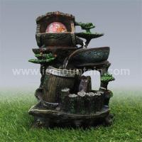 Buy cheap Tabletop Fountains Resin fengshui fountain from wholesalers