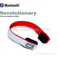 Buy cheap Bluetooth Stereo Headphone For iPhone, iPad, Samsung Mobile Phone from wholesalers