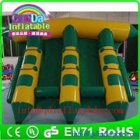 Buy cheap QinDa Inflatable flying fish towable water towable tubes inflatable water sled fly fish from wholesalers