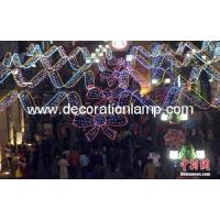 Buy cheap IP44 Christmas Led street motif light/ across street Holiday decoration from wholesalers