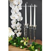 Buy cheap crystal candlestick holder from wholesalers