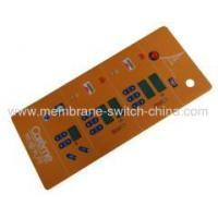 Buy cheap membrane switch overlay with LCD window from wholesalers