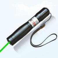 Buy cheap 165340 Lithium Battery Poered 300MW 5000M Lighting Range Rotating Zoom Green Laser Pointer from wholesalers