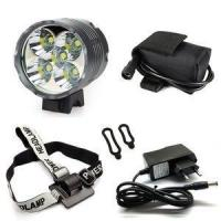 Buy cheap 7000 Lms Super Bright Rechargeable 8800mAH 5 CREE T6 LED Bike Light Lamp from wholesalers