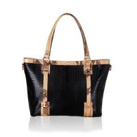 Buy cheap 2016 fashion trends python grain cow leather ladies' handbag at low price manufacturers product