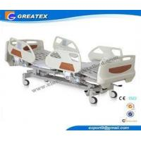 ABS , Metal Embedded Operator Electric Hospital Bed With Wheels and 5 Function
