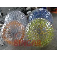 Buy cheap Inflatable Balls Cheap inflatable shining zorb ball,human hamster ball from wholesalers