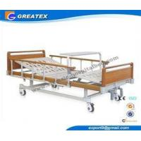 Four Fold Bed Board double Function patient hospital bed , manual adjustable beds
