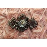 Buy cheap BlACK SEW ON Sequin Accessories Applique handmade for headband,handpiece from wholesalers