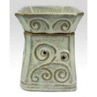 Buy cheap Electric Incense Burner square shape ceramic electric wax oil warmer from wholesalers