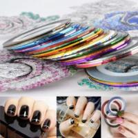 Buy cheap Nail Art color strip with automatic glue from wholesalers
