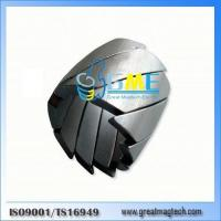 Buy cheap N40UH inclined segment ndfeb magnet from wholesalers