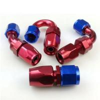 Buy cheap AN 4 6 8 10 Straight 45 90 180 Degree Swivel Oil Fuel Line Hose End Fitting from wholesalers