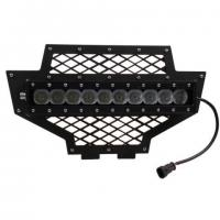 Buy cheap 100w Lower LED Light Bar(included) Grille 2011-2013 Polaris RZR from wholesalers