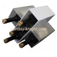 Buy cheap Custom acrylic stand wine display wine bottle display rack WDK-030 from wholesalers