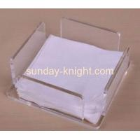 Buy cheap Clear acrylic napkin table tissue paper holder from wholesalers