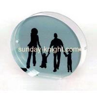 Buy cheap Acrylic round discount picture frames APK-003 from wholesalers