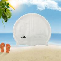 Buy cheap The silicone bracelet white silicone swim cap, adult swim cap processing from wholesalers