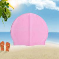 Buy cheap The silicone bracelet pink silicone swim cap, Ms swim cap processing from wholesalers