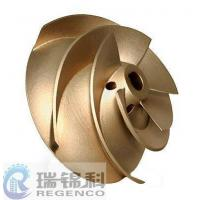 Buy cheap Impeller Precision Casting / Bronze Sand Casting from wholesalers