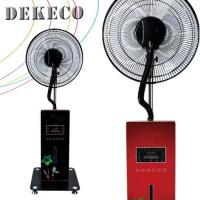 Buy cheap Colorful Digital Display Screen Misting Fan Cooler Mist Spray Fan from China Supplier from wholesalers