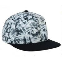 Buy cheap Cool design cotton snapback cap with bulks embroidery from wholesalers
