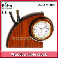 Buy cheap WK3170Desktop table decorative young town quartz clock from wholesalers