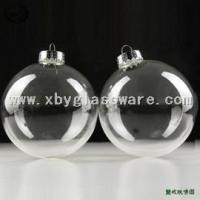 Buy cheap Clear Glass Christmas Ball Ornaments from wholesalers