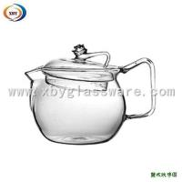 Buy cheap Heat Resistant Glass Teapot with Lid from wholesalers