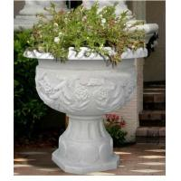 Buy cheap Decorative Stone Flowerpot for Garden from wholesalers