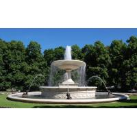 Buy cheap Yellow Marble Granite Water Fountains for sale from wholesalers