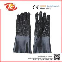 Buy cheap 35cm PVC coated gloves from wholesalers