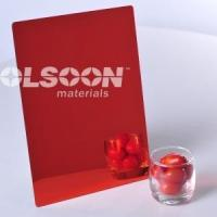 Buy cheap Red Plexiglass Sheets from wholesalers