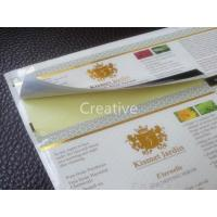 Buy cheap Custom Labels hot stamp foil printing labels from wholesalers