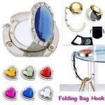 Buy cheap Hardware Product name:Folding Bag Hook with Mirror from wholesalers