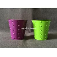 Buy cheap new design color metal pail from wholesalers