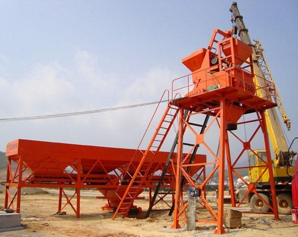 Mini Batching Plant : Types of batching plant move the mini concrete