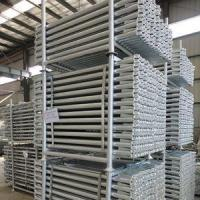 Buy cheap Q235 Hot Dipped Galvanized Ringlock Ledger 48.3*3.25*1200mm from wholesalers