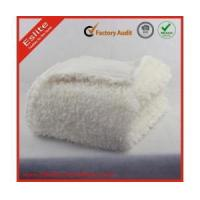 Buy cheap Faux Fur Blanket Polyester Blanket White Luxurious Faux Lion Fur Throw And Cushion from wholesalers