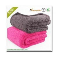 Buy cheap Micro Plush/Sherpa Blanket Wholesale Soft Fleece Life Comfort Sherpa Throw Sherpa Blanket from wholesalers
