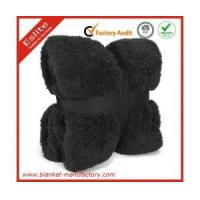 Buy cheap Micro Plush/Sherpa Blanket Promotion Soild Color Polyester Beautiful Plush Blanket Supplier from wholesalers