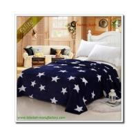 Buy cheap Flannel Fleece Blanket New Design Super King Size Thermal Blanket Star Coral Fleece Printed Blanket from wholesalers