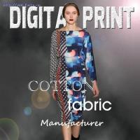 Buy cheap Digital Print Cotton Fabric MDP001 Cotton Fabroc Digital Print from wholesalers