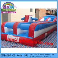 Buy cheap cheap exciting inflatable bungee run for sale product