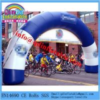 Buy cheap Inflatable arch/inflatable finish line arch/inflatable arch rental from wholesalers