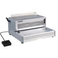 Buy cheap Comb Binding Systems Electric 14inch office book comb binder machinery CB360E from wholesalers