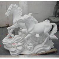Buy cheap Stone Carving stone horse sculpture from wholesalers