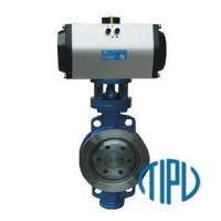 Buy cheap Special Alloy Valve Hastelloy butterfly valve from wholesalers