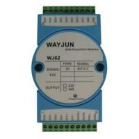Buy cheap Analog I/O Modules 8-CH Isolated Switch Signal to RS485/232 Converter from wholesalers