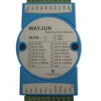 Buy cheap Analog I/O Modules 8-CH Analog Signal to RS485/232 Module with Modbus product